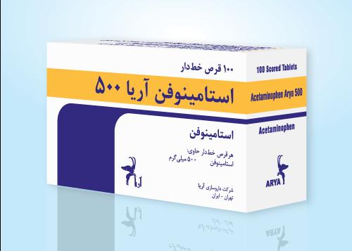 3D-Acetaminophen-500-FA-P