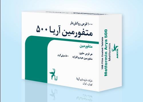 3D-Metformin-500-FA-P