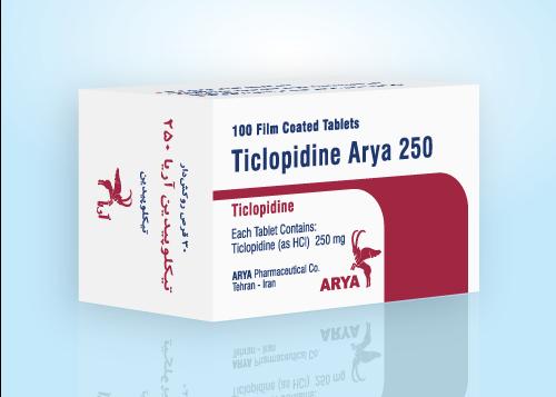 3D-Ticlopidin-250